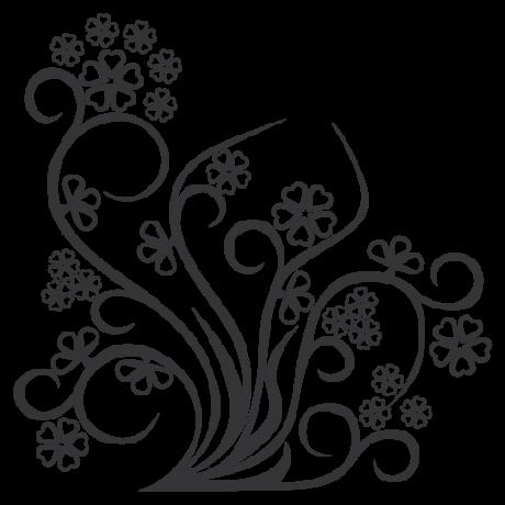 adesivo Floral 7