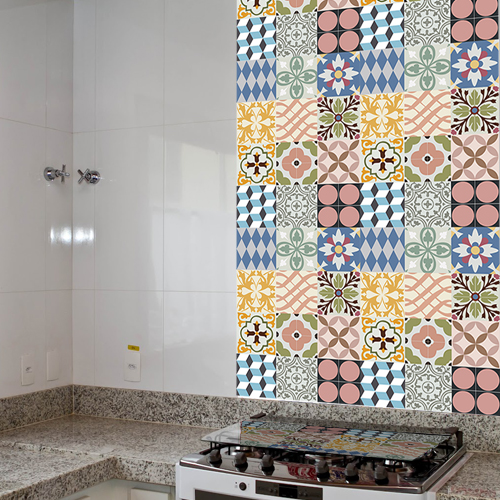Alexandre Artesanato Joinville ~ Como aplicar adesivo para piso Brave Impressões