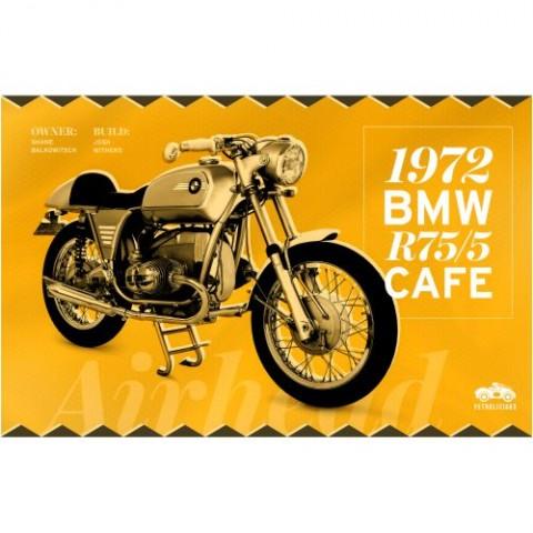 Pôster-BMW-Motorcycle