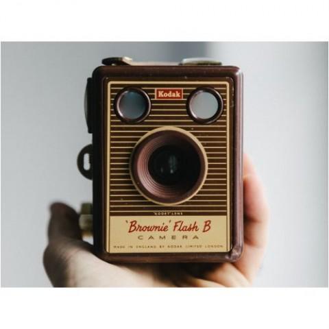 Quadro-Câmera-Brownie