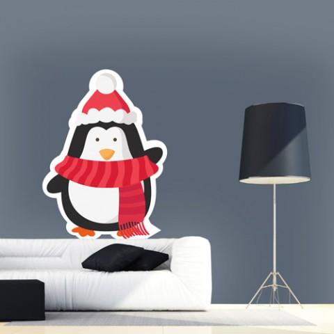 adesivo-de-parede-pinguim