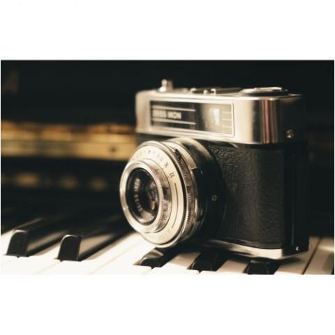Pôster-Câmera-Vintage