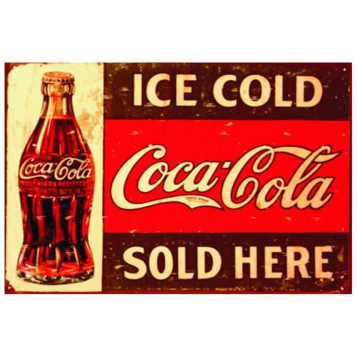Pôster Coca Cola
