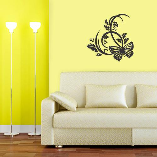adesivo-de-parede-floral