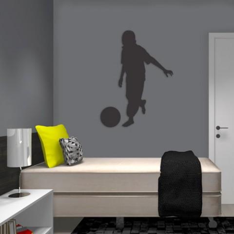 Adesivo-de-Parede-Menino-Jogando-Bola