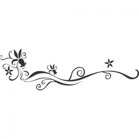 Adesivo de Parede Floral 6