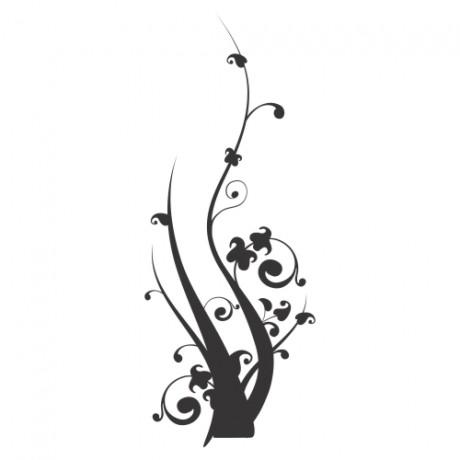 Adesivo de Parede Floral 5