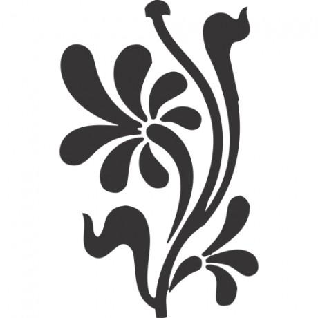 Adesivo de Parede Floral