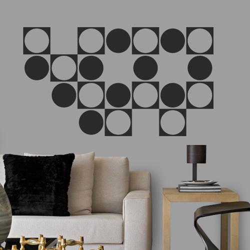 Adesivo-Decorativo-de-Parede-Círculo-e-Quadrado