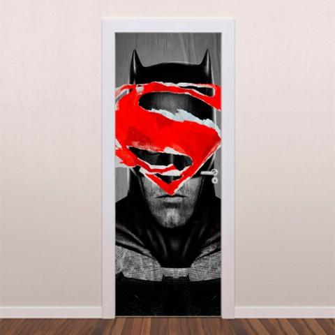 adesivo-decorativo-para-porta-Batman-x-Superman
