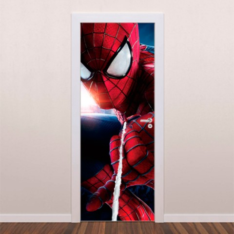 adesivo-decorativo-para-porta-homem-aranha-ii