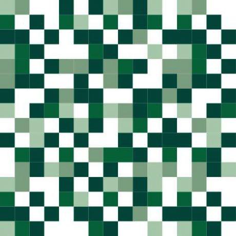 Papel de Parede Quadriculado Verde