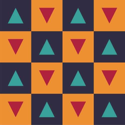 Adesivo De Unhas Para Formatura ~ Papel de Parede Tri u00e2ngulos Coloridos