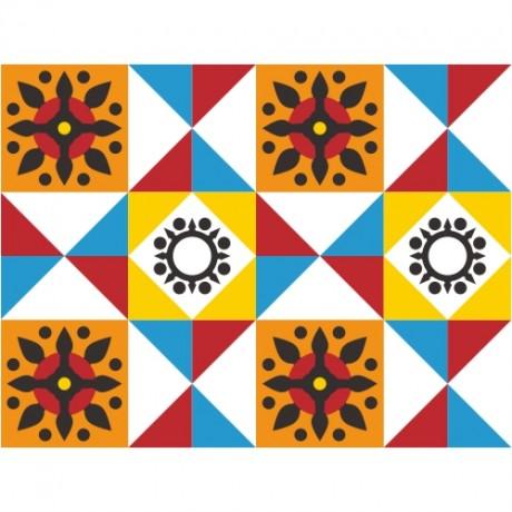 Adesivo para Azulejo – Geométrico