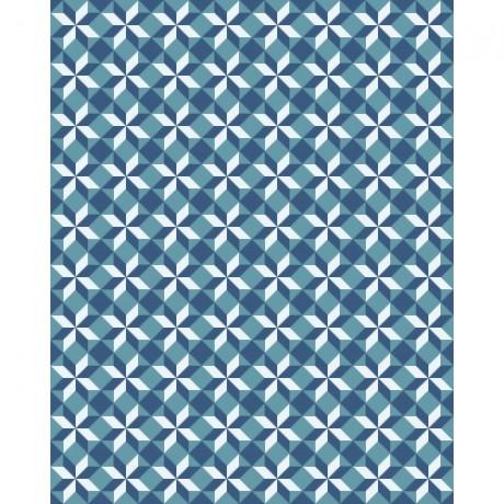 Adesivo para Azulejo – Geométrico Azul