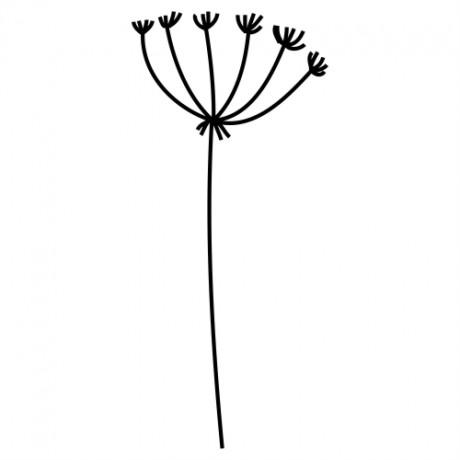 Adesivo de Parede Floral 8