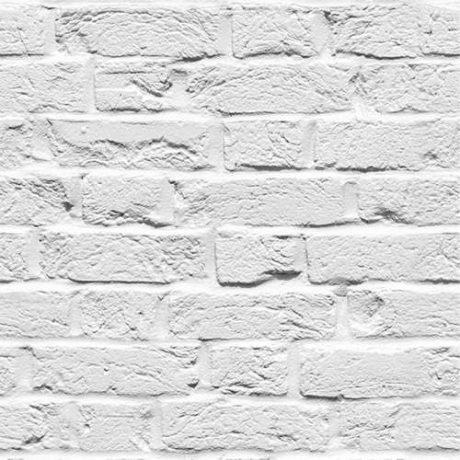 Papel de Parede Tijolo Maciço Branco