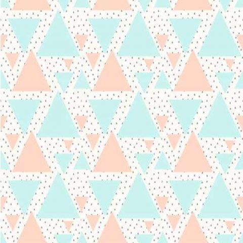 Papel de Parede de Triângulos Coloridos