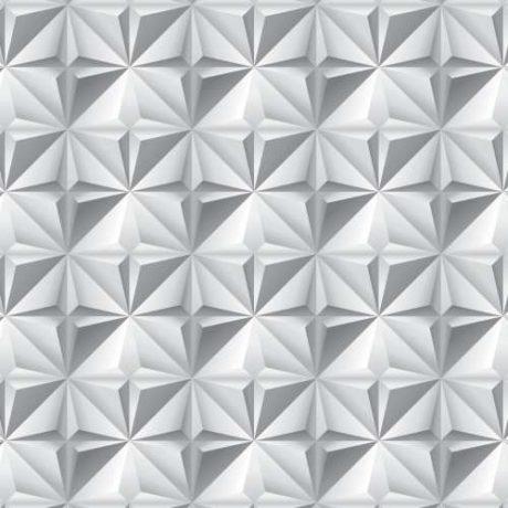 Papel de Parede Losango Efeito 3D