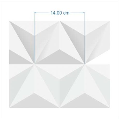 Papel de Parede Triângulo Efeito 3D