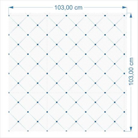 Papel de Parede Geométrico Quadrados