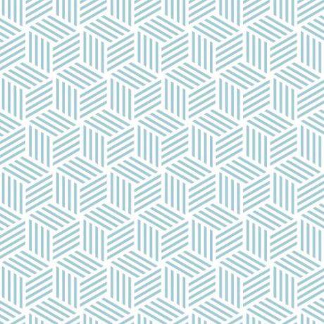 Papel de Parede Geométrico Hexágono