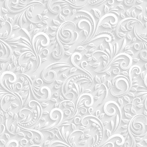 Papel de parede floral efeito 3d - Papel para revestir paredes ...