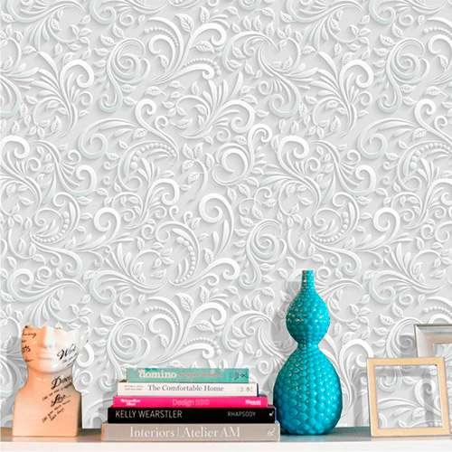 Adesivo de Parede Floral Efeito 3D