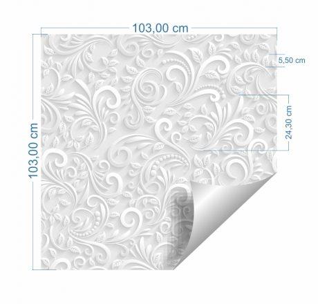 papel-de-parede-floral-3D-Tamanho