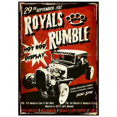 Pôster Royals Rumble